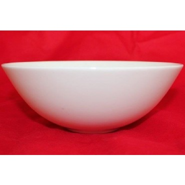 Bulk 24 Soup Round Bowl Soup Serving Rice Dinner Fine Bone China White 15x5cm