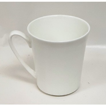 Bulk 36 Coffee Mug 400Ml Drinking Tea Cup  Fine Bone China White
