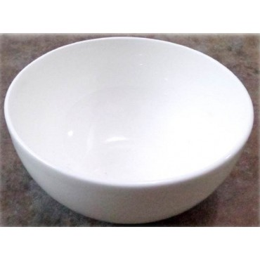 Bulk 24 Round Bowl Soup Serving Rice Dinner Fine Bone China White 13x7cm