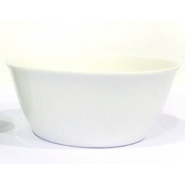 Bulk 36 Tall Round Bowl Soup Serving Rice Dinner Fine Bone China White 14x8cm
