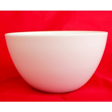 Bulk 36 Tall Round Bowl Soup Serving Rice Dinner Fine Bone China White 11x8cm