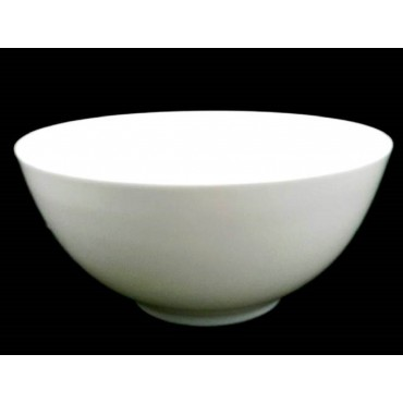 Bulk 18 Round Bowl Soup Serving Rice Dinner Fine Bone China White 20x10cm
