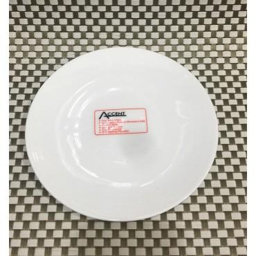 bulk 36 Basic Bone China Side Plate Serving Dinner Kitchen White 18x2cm