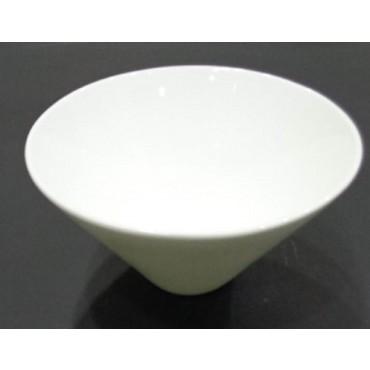 bulk 24 Bone Chinarrow Bottom Round Bowl Soup Serving Rice White 15x6cm