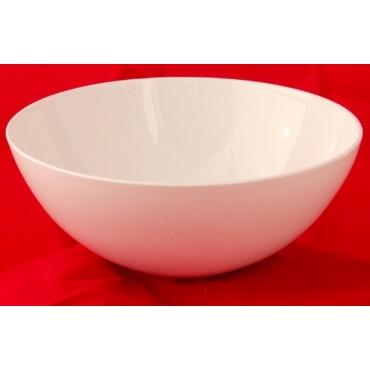 bulk 24 Large Bone China Round Bowl Soup Serving Rice Dinner White 21x8cm