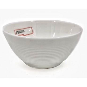 bulk 24 Bone China Round Bowl Soup Serving Rice Dinner White 13x10cm