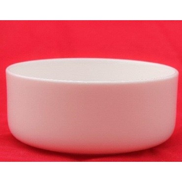 bulk 24 Bone China Vegetable Round Bowl Soup Serving Rice Dinner White 15x5cm
