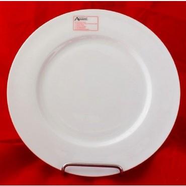 bulk 24 Bone China Round Dinner Plate Serving Dinner White 28x2cm