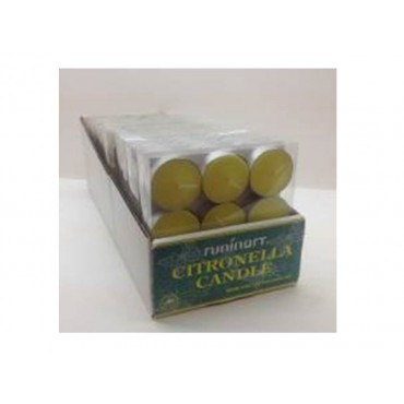 bulk 324 Citronella Tealight Candle Pk9 12G Wedding Party Tapered Fragrance
