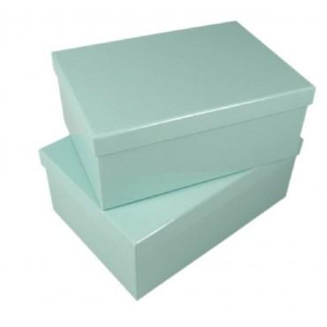 bulk 2 Set Of 12 Mint Gift Box Party Wedding Paper 43x16cm