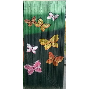 BAMBOO CURTAIN BUTTERFLY 90 STRANDS