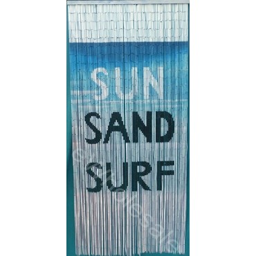 Sun Sand Surf Bamboo Curtain Blinds Door Fly Screen Room Divider 90 Strands