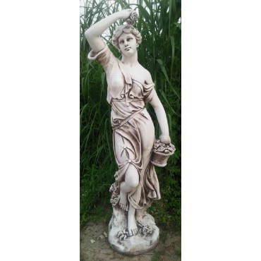 LARGE LADY GARDEN STATUE