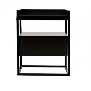 Valley Bedside Table Black